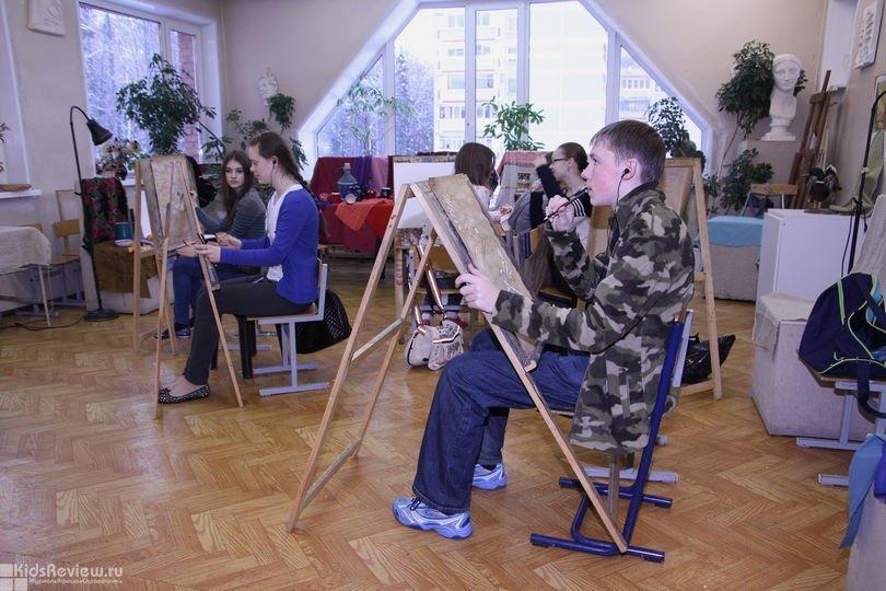 Детская художественная школа в Троицке, Москва