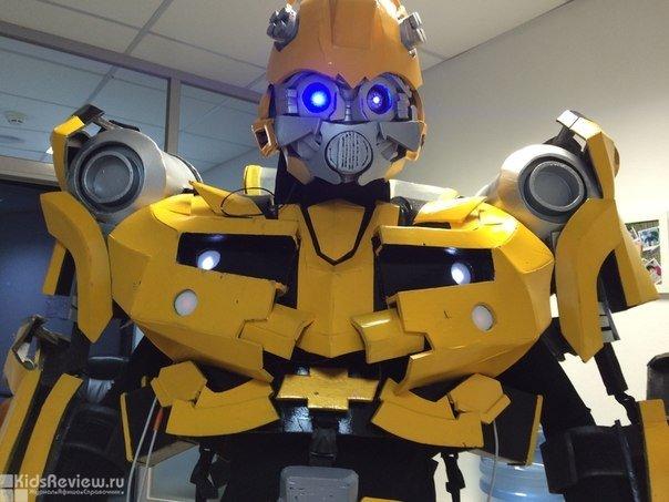 """""""Гигантские роботы"""", роботы на детский праздник, шоу роботов на день рождения ребенка в Екатеринбурге"""