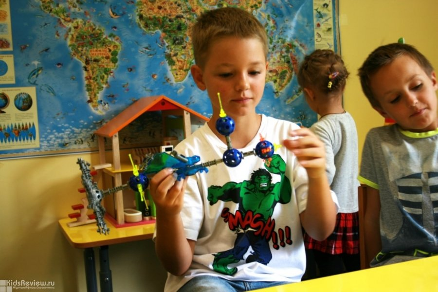 """""""Любознательный жираф"""", развивающий центр для детей от года до 14 лет, подготовка к школе, робототехника и мини-сад на Ленинском проспекте, Москва"""