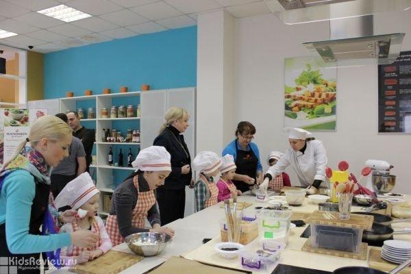 Mandarin Gourmet, кулинарная студия, кулинарные мастер-классы для детей, Краснодар