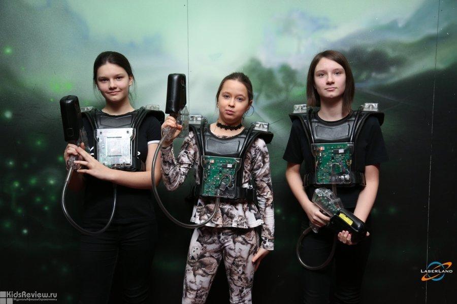 """LaserLand, """"ЛазерЛэнд"""", развлекательный центр, лазертаг для детей от 7 лет и взрослых в ТРЦ """"Vegas Кунцево"""", Москва"""
