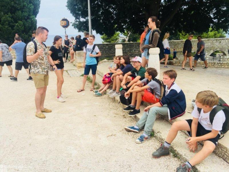 Veli Joze, детский спортивно-танцевальный лагерь в Хорватии
