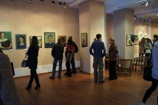 """""""Девочки рисуют"""", выставка в Центре искусств на Свердлова, Новосибирск"""