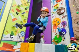 Комплекс интерактивных высотных аттракционов FunWall Club для детей от 4 лет в Москве