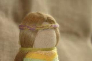 """""""Куколка на замужество"""", авторский мастер-класс Олеси Митасовой по созданию обереговой куклы, Томск"""