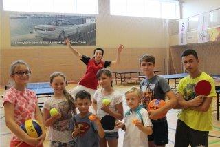 Городской лагерь Junior Club для детей от 6 до 14 лет летом 2017 в центре Citrus Fitness, Челябинск