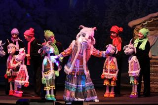 """""""Волк и семеро козлят"""", спектакль для детей от 3 лет в Башкирском театре кукол, Уфа"""