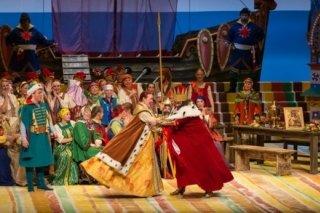 """""""Сказка о царе Салтане"""", опера для всей семьи в Приморском театре оперы и балета, Владивосток"""