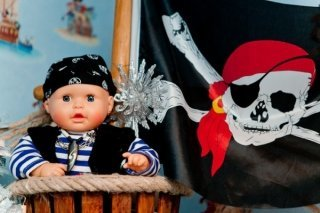 """""""Хранитель пиратского клада"""", детский праздник в центре семейного отдыха """"Игропарк"""", Владивосток"""