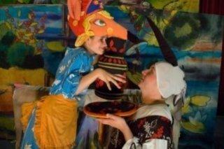 """""""Журавушка"""", спектакль для детей от 3 лет театра """"Витражи"""" в Центре творчества учащихся МОУ МТЛ, Самара"""