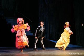 """""""Царевна-лягушка"""", мюзикл для детей в Театре оперы и балета им. М.И. Глинки, Челябинск"""