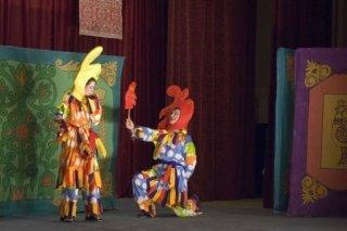 """""""Заюшкина избушка"""", спектакль для детей от 3 лет театра """"Витражи"""" в Центре творчества учащихся МОУ МТЛ, Самара"""