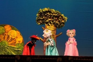 """""""Кот в сапогах"""", спектакль для детей с 5 лет в театре кукол """"Арлекин"""", Омск"""