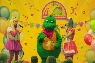 """Праздничная программа для детей в честь дня рождения развлекательного центра """"Динопланета"""", Самара"""