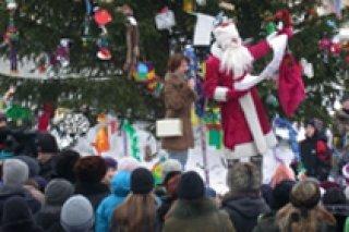День рождения Деда Мороза в Екатеринбургском зоопарке