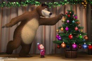"""""""Маша и Медведь. Алле-оп в Новый год!"""", новогоднее представление в Окружном доме офицеров, Самара"""