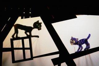 """""""Котенок по имени Гав"""", спектакль для детей от 4 до 7 лет в Московском детском театре теней"""