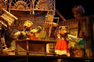 """""""Три медведя"""", спектакль для детей от 4 лет в театре """"Огниво"""", Мытищи"""