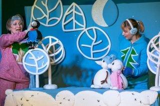 """""""Снеговики"""", спектакль по мотивам румынской сказки в Театре кукол им. Станиславского, Новосибирск"""
