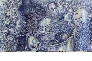 Персональная выставка Юрия Аксёнова в Приморской картинной галерее на Алеутской, Владивосток