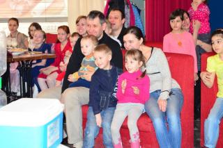 """Детская вечеринка в стиле MTV в кафе """"Друзья"""" в Екатеринбурге"""