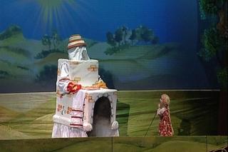 """""""Гуси-лебеди"""", спектакль для детей от 5 лет в Детском кукольном театре, Новосибирск"""