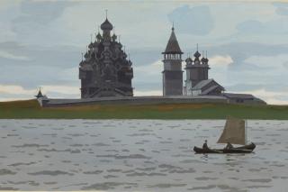 """""""Жемчужина Заонежья"""", выставка в Музее Изо, Петрозаводск"""